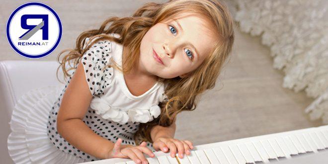 Klavier lernen mit 4+