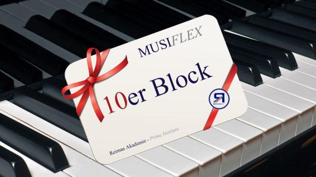 MusiFlex 10er Block | Reiman Akademie Linz