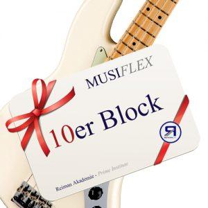 Reiman Akademie_Musiflex_10erBlock_E-Bass