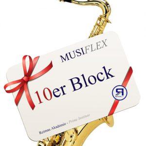 Reiman Akademie_Musiflex_10erBlock_Saxofon