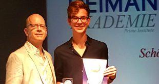 Leistungsabzeichen Silber in Schlagzeug der Reiman Akademie für Florian Wacha