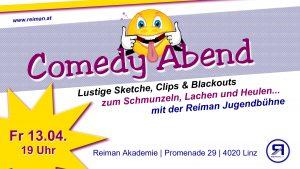 Comedy Abend mit der Reiman Jugendbühne
