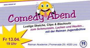 Reiman Akademie | Reiman Jugendbühne | Comedy Abend